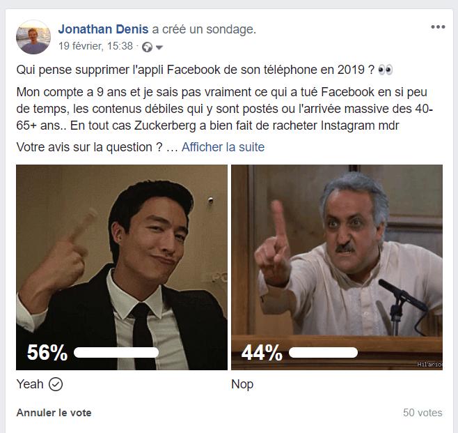 Age Facebook publicité visibiltié payante gratuite