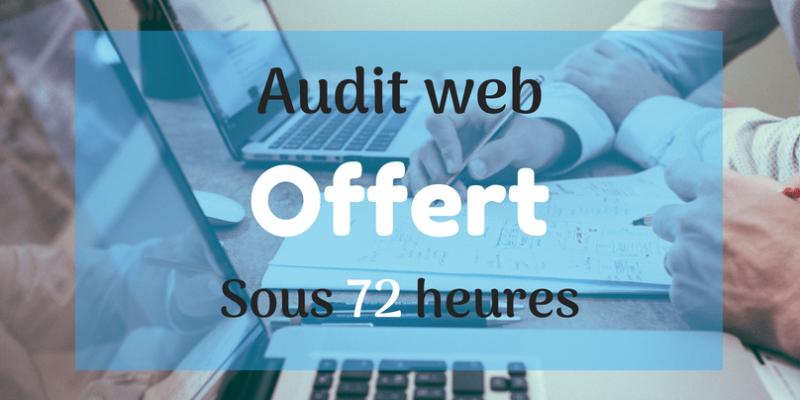 Audit web gratuit perigueux aquitaine